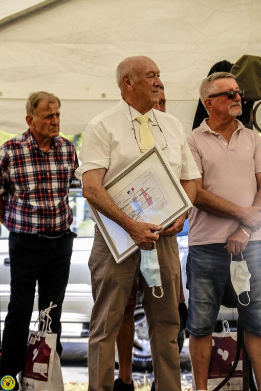Val de Chalvagne  : honorait christian Gatti  et son équipe