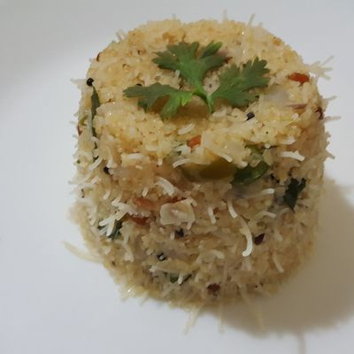 LAPSI RICE SEVAI VEGETABLE UPMA