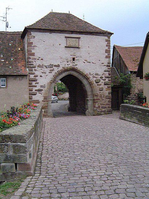 Diaporama bourg fortifié de Dachstein