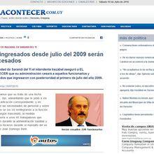 Durazno: EL FLAMANTE DELFÍN DE VIDALÍN ANUNCIÓ EL CORTE DE CABEZAS