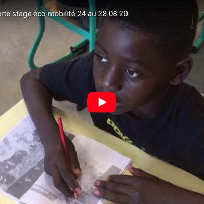 Clip-vidéo : stage école ouverte : éco-mobilité à Bacalan