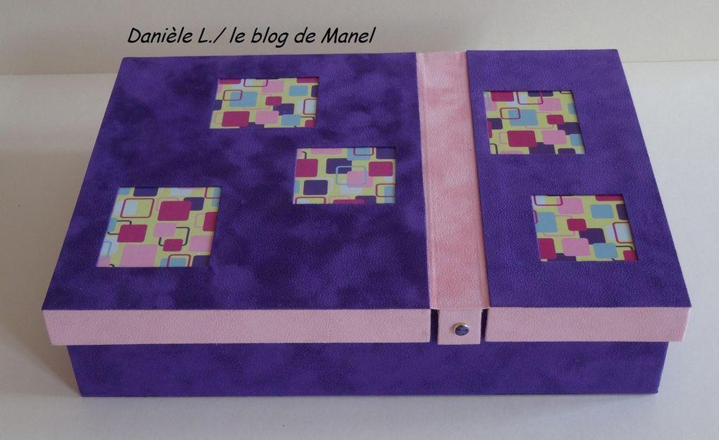 DANIELE L. / ELEVE DE MANEL/ BOITE A4