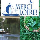Merci la loire | Balade Bateau châtillon sur Loire - Orléans - Loiret | Découverte des plantes sauvages