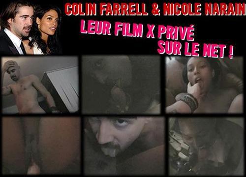 Les images de la vidéo X de Collin Farell !