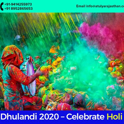 Dhulandi 2020 – Celebrate Holi with Pomp & make memories for life