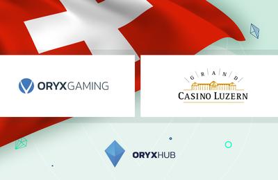 Les jeux de casino en ligne Oryx Gaming arrivent en Suisse sur le site MyCasino.ch