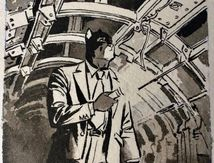 Is there light at the end of the tunnel …?  by Juanjo Guarnido, Tome 6 Blacksad