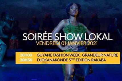 « Soirée show lokal » sur Guyane la 1ère !