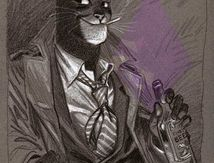 Grey print by Blacksad
