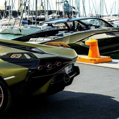 Un bateau Lamborghini, cela vous dit ?
