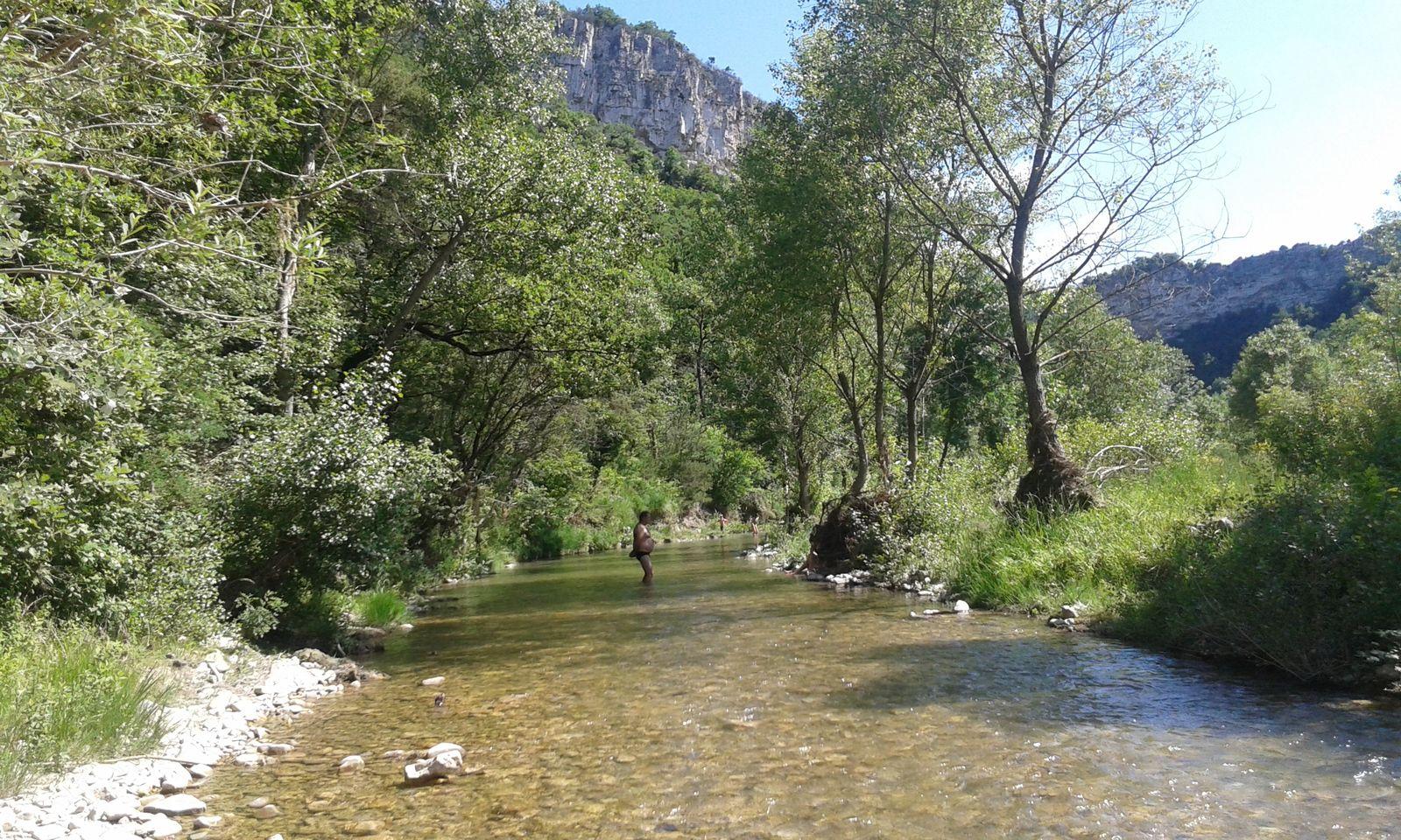 #100km #Youhou #LibertéRetrouvée #Rivière #Potes #Barbeucs #BonsVinsEtDigeos #DrômeMyLove