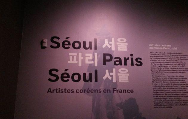 """[Expo] """"Seoul-Paris-Séoul"""" au Musée Cernuschi"""