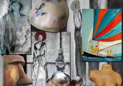 """Le Croisic - L'expo """"Rencontres"""" s'invite au centre artisanal"""