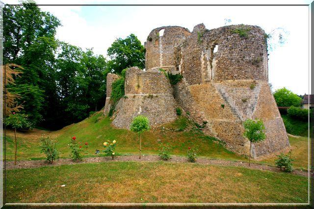 Diaporama château de Conches en Ouches