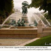 Fontaine des 4 parties du monde - Images du Beau du Monde