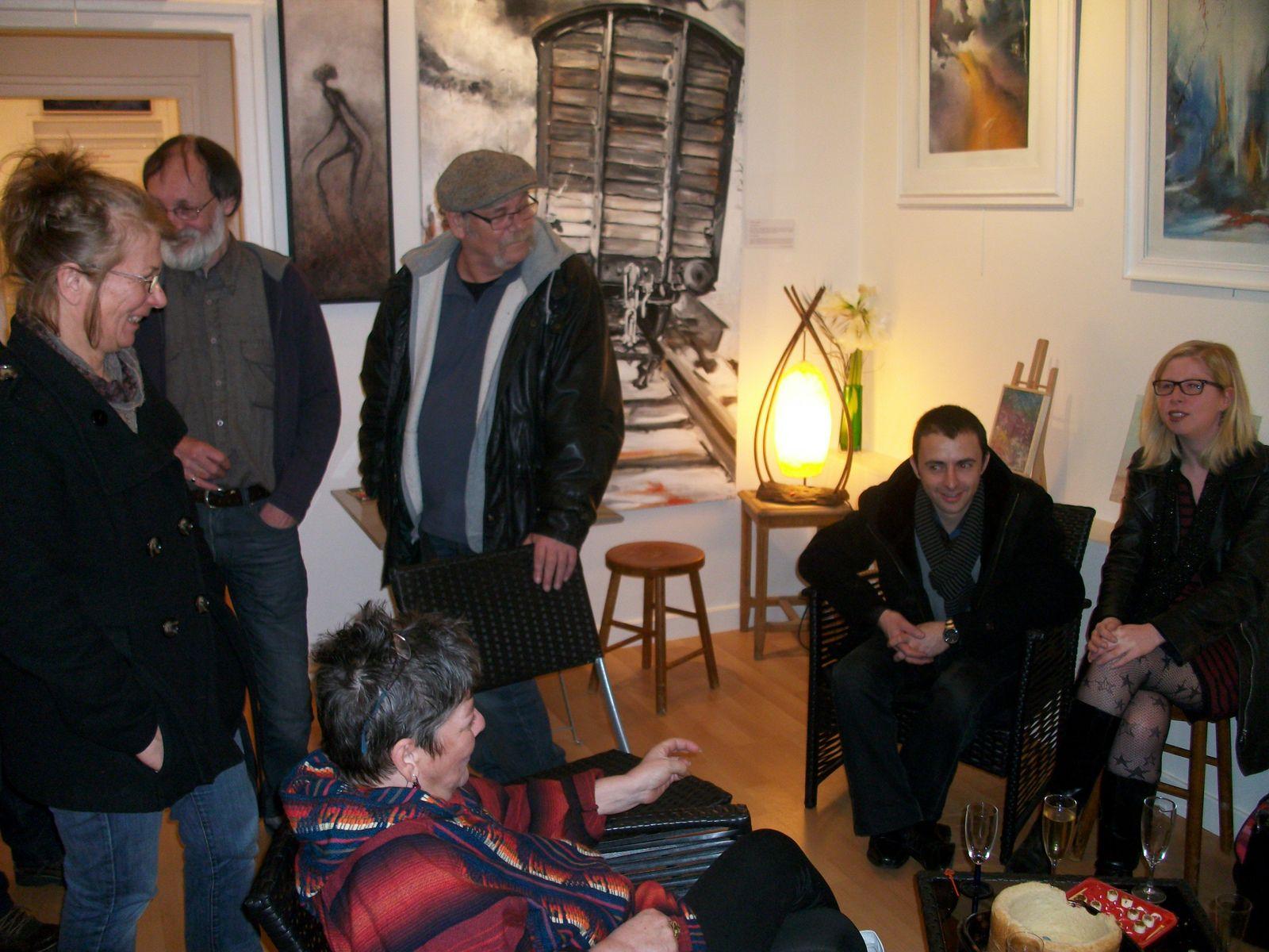 Exposition Galerie d'Arts Hugues Capet, 28 rue du Générale de Gaulle, 60400 Noyon (Avril-Mai 2014).