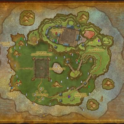 The timeless island for low geared characters