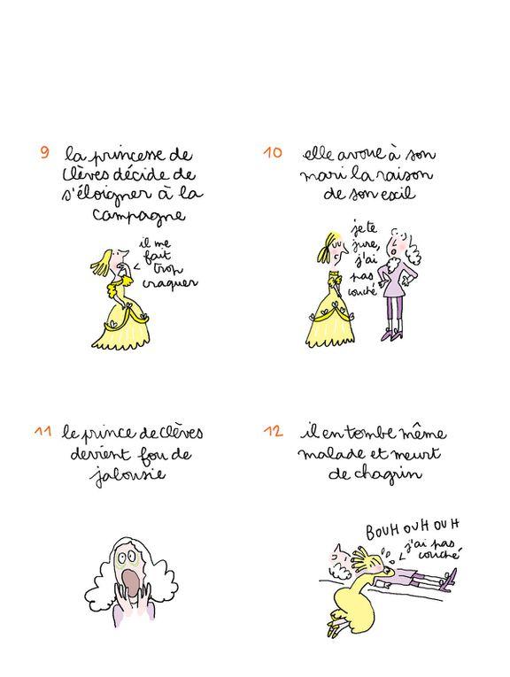 """Extrait du livre """"AVEZ-VOUS LU"""" aux éditions Rue des sèvres - La princesse de Clèves"""