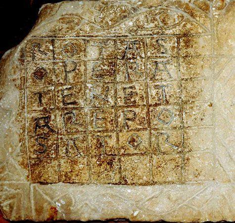 Le carré Magique de Rochemaure. -2/.-
