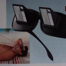 Des lunettes périscope...