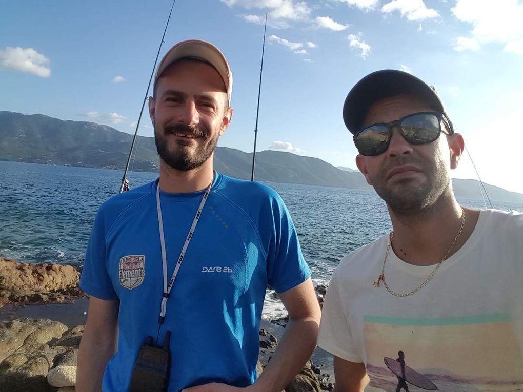 Pêche du Denti du bord, le surfcasting en Méditerranée Team Pescador13 2016