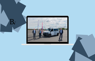 Site at Munich Airport is ready for the autonomous vehicles of tomorrow