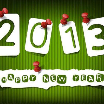 Bonne et fructueuse année 2013 !