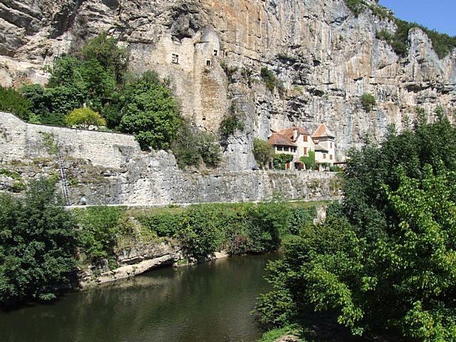 Diaporama château du Diable de Cabrerets