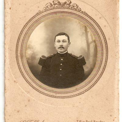 à la memoire du soldat LEAU Adrien