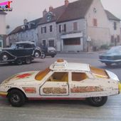 DOCTOR'S EMERGENCY CAR CITROEN SM MATCHBOX 1/36 - car-collector.net