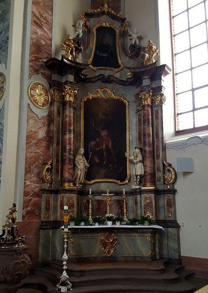 Eglise Saint Bartholomé à Ettenheim