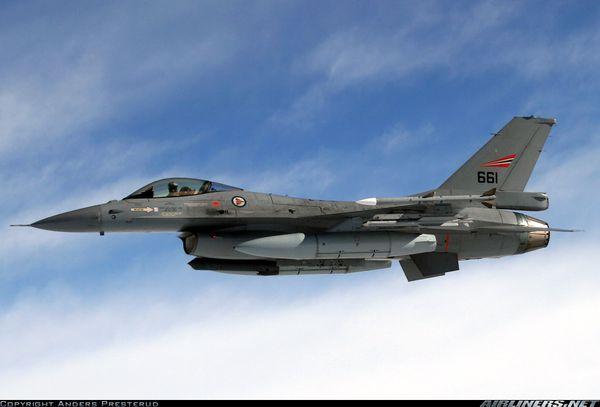 Les F-16 norvégiens assurent la protection du ciel islandais