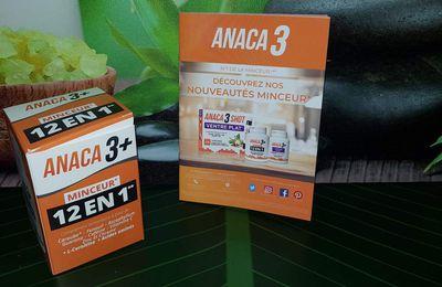 Je teste les compléments alimentaires Anaca3+ Minceur 12 en 1.