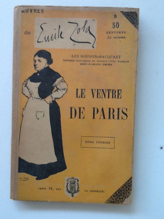 Le ventre de Paris en 5 volumes aux EDITIONS PARISIENNES