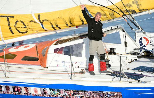 18e et dernier du Vendée Globe, Sébastien Destremeau a gravi son Everest de la Voile
