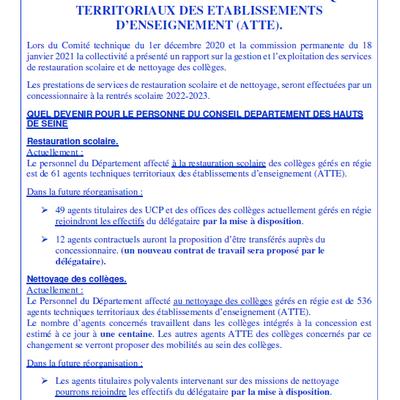 Flash info du Réseau Utile Septembre/Octobre 2021