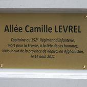 Archives : Hommage au capitaine Camille LEVREL à Colmar le 12 juillet 2012 - anciens9genie.overblog.com