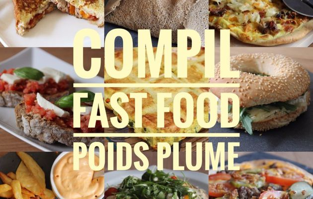 COMPIL FAST FOOD POIDS PLUME