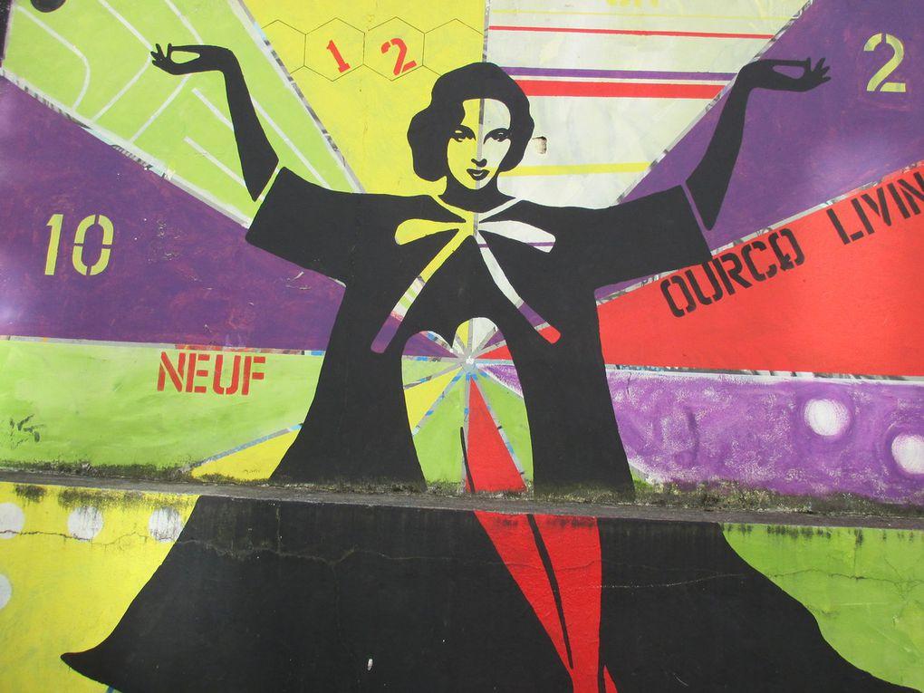 Nuit Blanche - Rue Germaine Tailleferre - Paris 19e