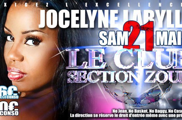 JOCELYNE LABYLLE AU LE CLUB SECTION ZOUK LE 21 MAI 2011