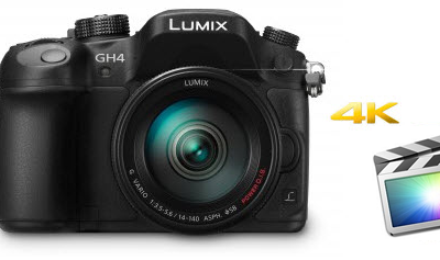 The Best Workflow for working Panasonic GH4 4K with Final Cut Pro