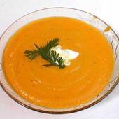 Soupe de carottes gingembre weight watchers adaptée cookeo - Recettes faciles Rapides au Cookeo et autres robots ou sans