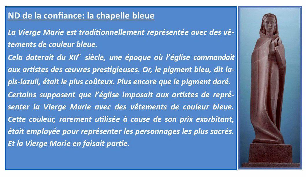 Marie et la couleur bleue