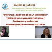 AG de DFD et Conférences - 13 mai 2017 à Paris