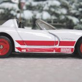 DODGE VIPER RT/10 CABRIOLET 1992 SPIDERMAN MAISTO 1/64 - car-collector.net