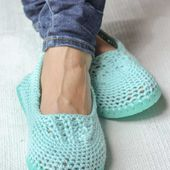 How to Make Cheap Flip Flops Into Crochet Slippers