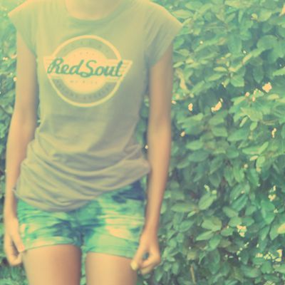 Tie and dye short.