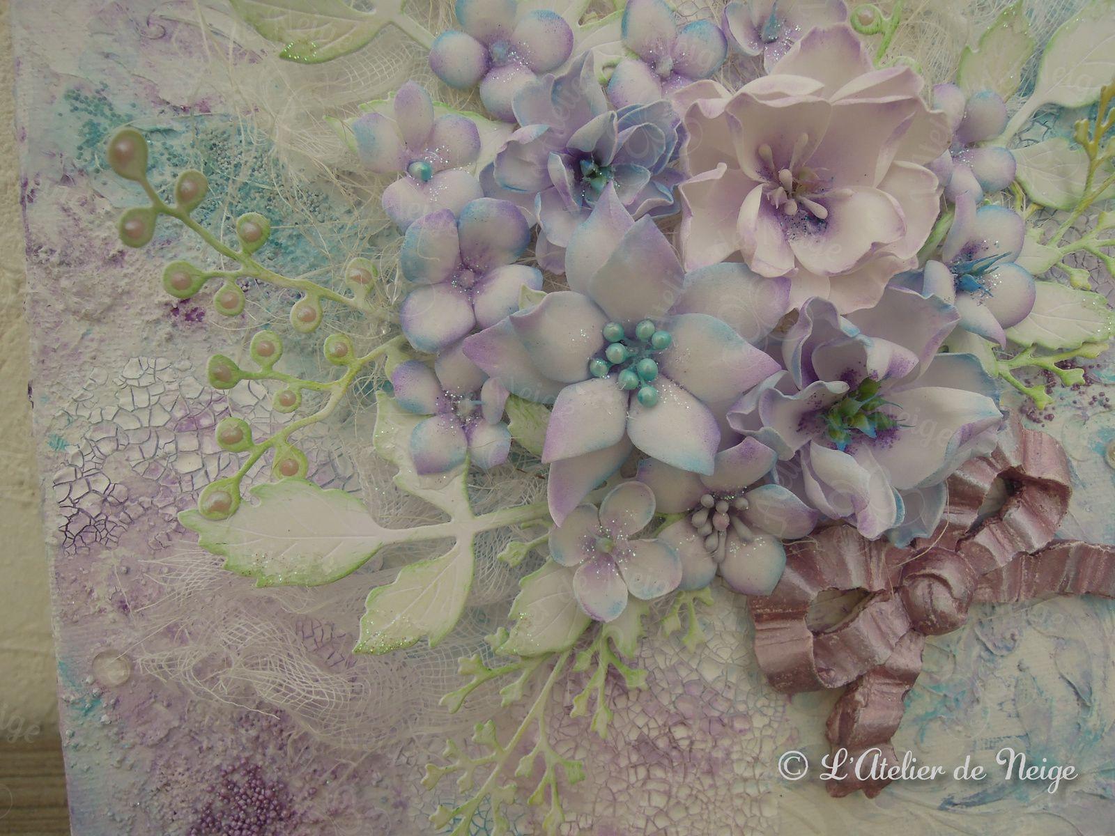 011 - Toile Fleurs de Printemps
