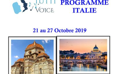 Tutti Voice en Italie : Fiche d'inscription