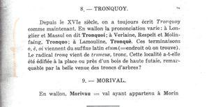 HISTOIRE DES VILLAGES DE TRONQUOY, RESPELT, SEMEL, GéRIMONT